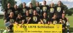 Auch in Schlieben bebt der Acker: Aufstieg in die Landesliga wird gefeiert!