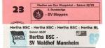 Verblasste Erinnerungen an Meppen und Mannheim: Und nur einer kehrt zurück ins Rampenlicht…