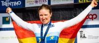 Linda Riedmann wird Juniorinnen-Europameisterin im Straßenrennen