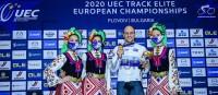 Maximilian Levy holt zweimal Gold und hält in Plovdiv die deutsche Fahne hoch