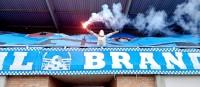 Wie der Stahl gehärtet wird! Stahl Brandenburg mit feiner Choreo und einem 2:0-Sieg