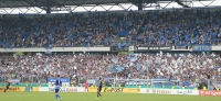 MSV Duisburg vs. Schalke 04: Choreo, Banner und same procedure as 2011