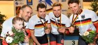 Bahn-DM 2015: Kristina Vogel und Track Team Brandenburg holen Gold