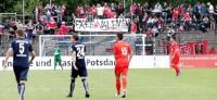 SV Babelsberg 03 vs. Hapoel Tel Aviv: Lange Schlangen und kurzweiliges Spiel