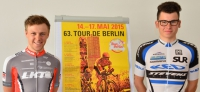 63. Tour de Berlin: Start am Himmelfahrtstag in Birkenwerder mit Martin Kittel