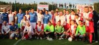 Sparta Lichtenberg vs. Hansa Rostock: Heiteres Testspiel mit Rauchzeichen vom Hügel