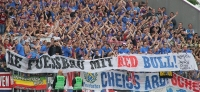 """""""Ke Fuessbau mit Red Bull"""" - die Geschichte hinter dem WSV-Spruchband"""