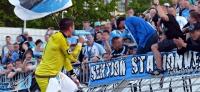 Himmelblaue Party im Sojus: Chemnitzer FC holt in Zwickau den Pokal
