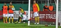 TuS Koblenz vs. SG Dynamo Dresden: Hochspannung bis zu letzten Minute beim Heimspiel in der Ferne