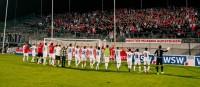 Wuppertaler SV vs. Rot-Weiss Essen: Gemächliches Derby vor 4.040 Zuschauern