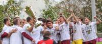 Der BFC Dynamo greift sich im Mommse den Berliner Pokal