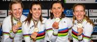 Deutsche Frauen bei Bahnradsport-WM eine Klasse für sich