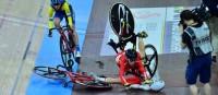 Bahn-WM in Berlin: Stürze, Weltrekorde und spektakuläre Rennen