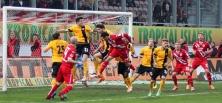 Energie Cottbus vs. Dynamo Dresden: Keine Tore beim hitzigen Duell