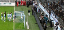 TSV 1860 München vs. Karlsruher SC: Heimpleite und Spruchband-Festival