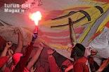 Union Berlin Fans in Leverkusen 2017: Poster-Foto Download