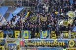 1. FC Saarbrücken vs. Karlsruher SC: Keine Tore, wenig Zuschauer, gute Stimmung