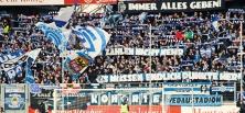 MSV gegen KSC: Spiel nach einer Minute gelaufen