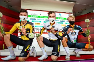 U23 Männer Einzelzeitfahren DM Stuttgart 2021