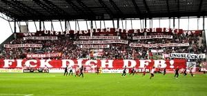 DFB-Protest in Essen