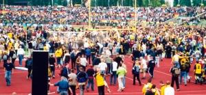 Dynamo Dresden bei Hertha BSC II im Juni 2002: Schwarz-gelbe Invasion im Jahn-Sportpark