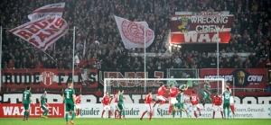 Rot Weiss Essen gegen Wattenscheid 09: Herbstliches 0:0 und Fahnenklau