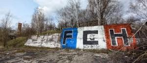 Ein (blau-weiß-roter) Fußball-Spaziergang durch Eisenhüttenstadt