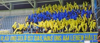 Gut was los beim Klassiker Chemnitzer FC vs. 1. FC Lok Leipzig!