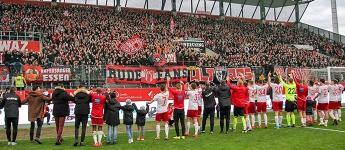 Vom Winde verweht: Rot-Weiss Essen gewinnt gegen Oberhausen