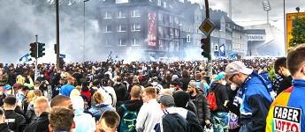 VfL Bochum steigt in Bundesliga auf: Fans feiern friedlich, Polizei eskaliert!
