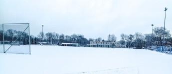 Spielabsage wegen Schneefalls - entlang der Warta zum Freiluft-Hip-Hop
