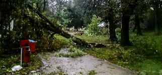 Orkan Ksawery jak koniec świata