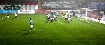 Nass gemacht: RWE überrollt RWO im Niederrheinpokal-Viertelfinale 2021