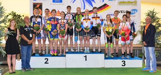 Deutsche Meisterschaft Bahnradsport 2015: Erste deutsche Rekorde beim Nachwuchs
