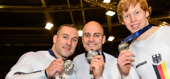 Bahn-EM 1. Tag: Keine Medaille in der Mannschaftsverfolgung für den BDR, aber zweimal Silber für die Kurzzeitathleten