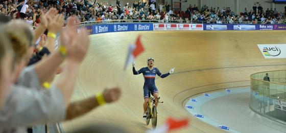 UCI Bahn-WM 2015: Francois Pervis lässt Frankreich jubeln