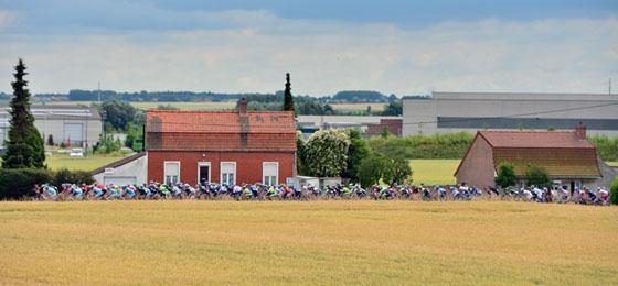 Le Tour erreicht französischen Boden: Marcel Kittel fährt dritten Etappensieg ein