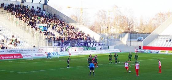Rot Weiss Essen Borussia Mönchengladbach Testspiel