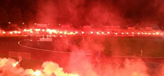 Pyro-Abschied vom Steigerwaldstadion: DFB ermittelt gegen Rot-Weiß Erfurt