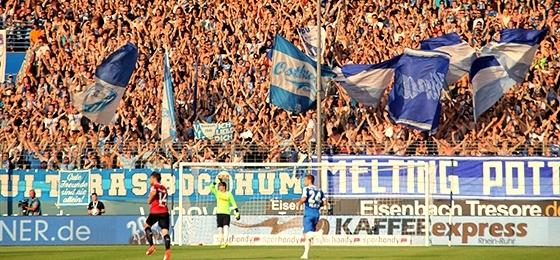 VfL Bochum vs. Hannover 96: Punkteteilung bei Oberkörperfrei Wetter