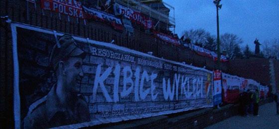 Harte fußballlose Winterzeit: Pilgerfahrt der polnischen Fans nach Czestochowa