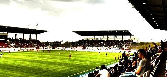 DFB Pokal: TuS Koblenz gegen Dynamo Dresden in Zwickau