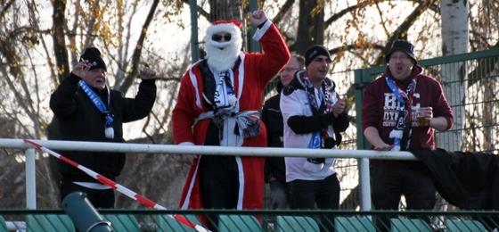 BFC Dynamo vs. Budissa Bautzen: Weihnachtsmann stibitzt drei Punkte im Sportforum