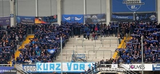 SC Paderborn 07 vs. VfL Osnabrück: Protest-Banner zerrissen, Krise zunächst beendet