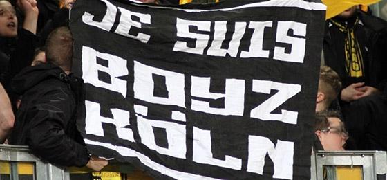 Je suis Boyz Köln Fahne