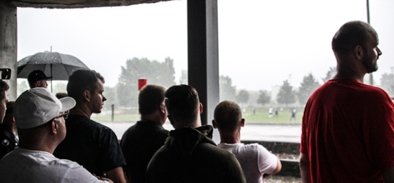 Spielabbruch beim Testspiel VSG Altglienicke vs Polonia Bytom
