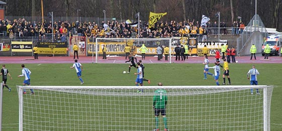 Alemannia Aachen in Bochum