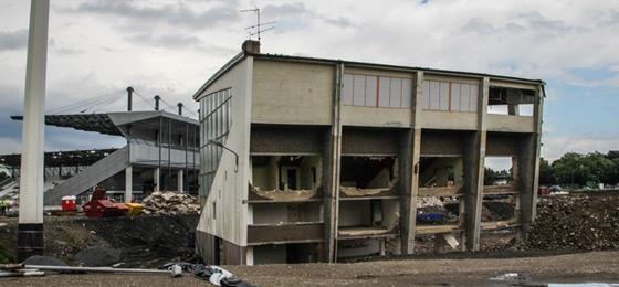 Georg Melches Stadion - Neues Stadion Essen