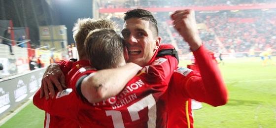 Nach fader Kost der platzende Knoten: Union Berlin schlägt die Braunschweiger Eintracht