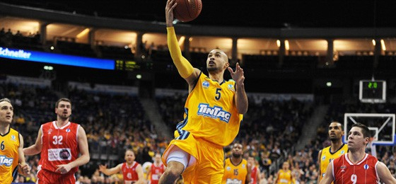 David Logan, Shooting Guard bei Alba Berlin